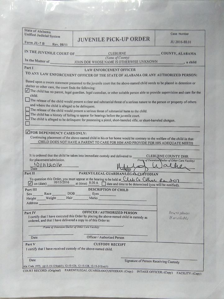 Fraudulent Petition 3